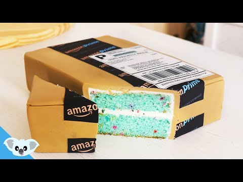 Amazon Prime CAKE! | Amazing and Satisfying How To Ideas | Koalipops