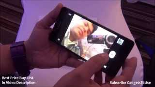 Lenovo A6000 India Hands on Quick Review, Camera, Features, Price Overview