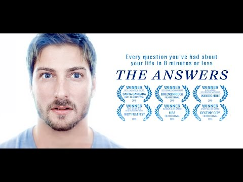 "2015 award winner ""The Answers"" - A man gets to ask every question he's had about his life. Starring Daniel Lissing and Rose McIver"