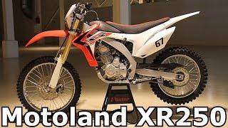 Обзор на Motoland XR 250