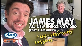 JAMES MAY Unboxing & UNUNBOXING video (feat. Hamster)