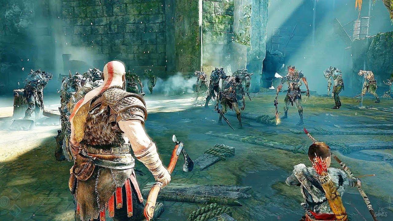 God Of War Gameplay GOD OF WAR 4 - ...
