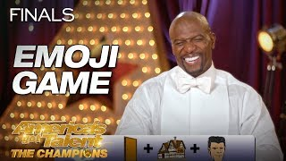 Play The Emoji Game! AGT: The Champions Version - America's Got Talent: The Champions
