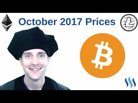 Cryptocurrency Price Predictions October 2017!