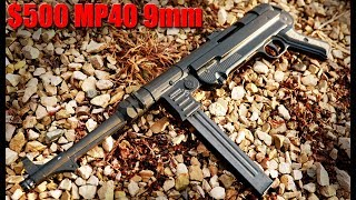 ATI MP40 9mm Review: $500 WW2 Gun You Can Actually Buy!