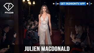 London Fashion Week Fall/WItner 2017-18 - Julien Macdonald Trends | FTV.com
