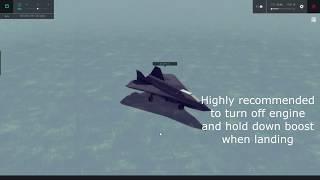 AF-05 VTOL Stealth Fighter Jet Tutorial | BESIEGE v 0.85 | Air Creations