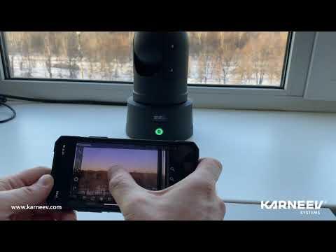 Беспроводная автономная поворотная портативная мобильная видеокамера - KS W серии M