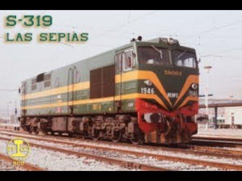 Locomotora Diesel Serie 319.000.  Documental.