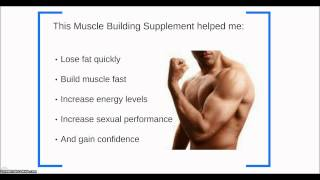 Gain Muscle Mass In 3 Weeks - The Best Muscle Building Supplements