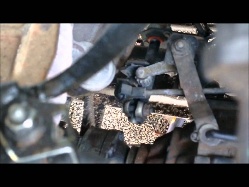 How to change a shifter bushing vw golf