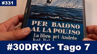 Tago 7: Mi ŝatus legi la libron… | Esperanto-vlogo | #30DRYC