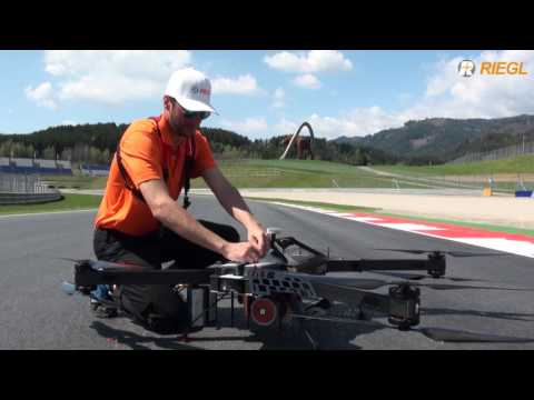 Accurate track planning with the RIEGL RiCOPTER in Spielberg, Austria