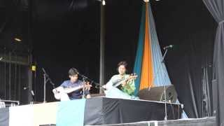 London Mela 2013 - Bengali Bhatiali Song by Sarod Player Ayaan Ali and Amaan Ali Khan