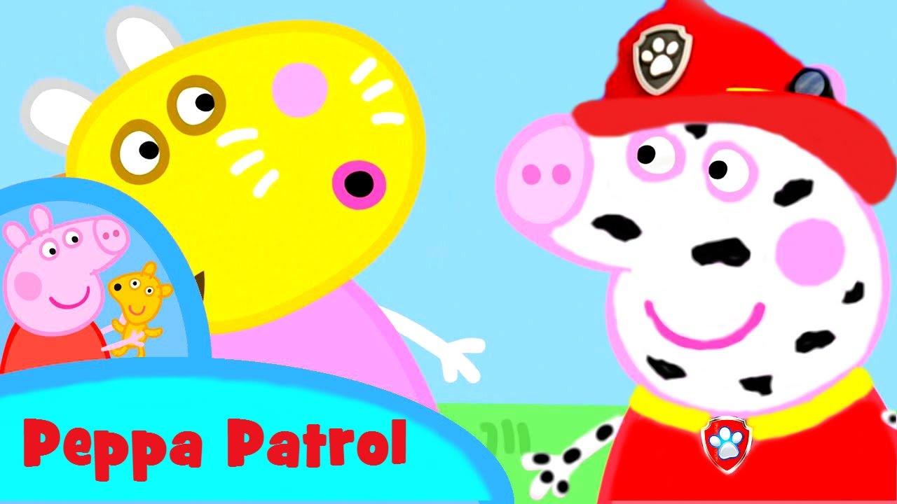 ЩЕНЯЧИЙ ПАТРУЛЬ и СВИНКА ПЕППА новые серии на русском Peppa Pig PAW Patrol Игрушки
