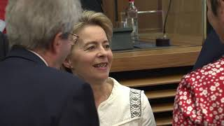 First College meeting of the VON DER LEYEN Commission: - roundtable
