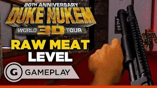 Duke Nukem 3D: 20th Anniversary - Raw Meat Gameplay