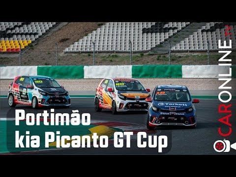 PERDI o PÓDIO na ULTIMA VOLTA! 😡 Kia Picanto GT Cup Portimão