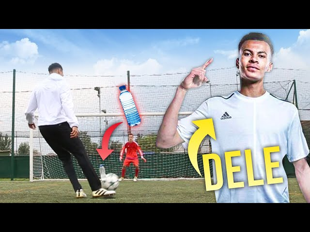 DELE ALLI AMAZING BOTTLE FLIP PENALTY!
