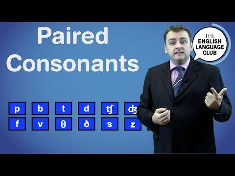 Consonant Pair Sounds