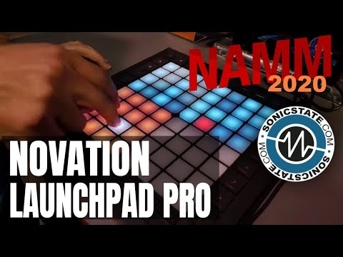 NAMM 2020 Novation Launchpad Pro