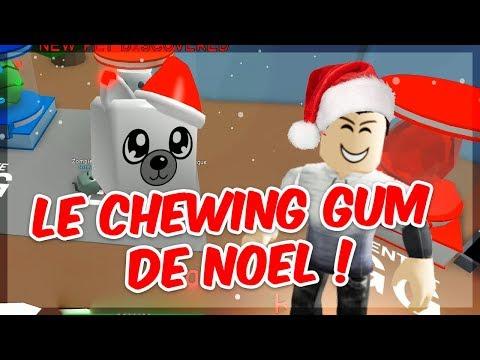 LE CHEWING-GUM DE NOEL ! Mise à jour Roblox Bubble Gum Simulator