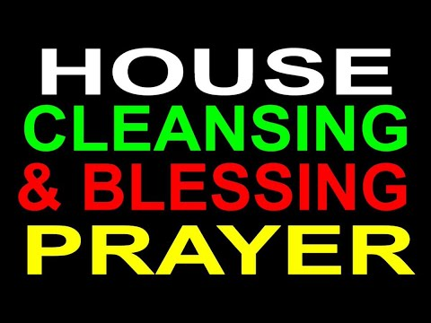 2-Hour SPIRITUAL HOUSE CLEANSING & BLESSING PRAYER by Brother Carlos - GET THE BOOK AT AMAZON BELOW