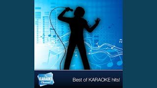 Karaoke - My Cup Runneth Over (In the Style of Ed Arnes) (Karaoke Version)