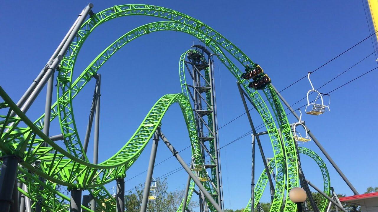 The Monster New Roller Coaster At Adventureland Des Moines