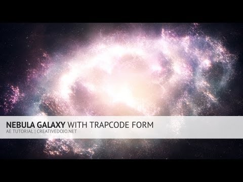 Nebula Galaxy With Trapcode Form Tutorial