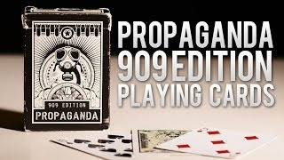 Deck Review - Propaganda Deck Theory 11  909 Edition Playing Cards