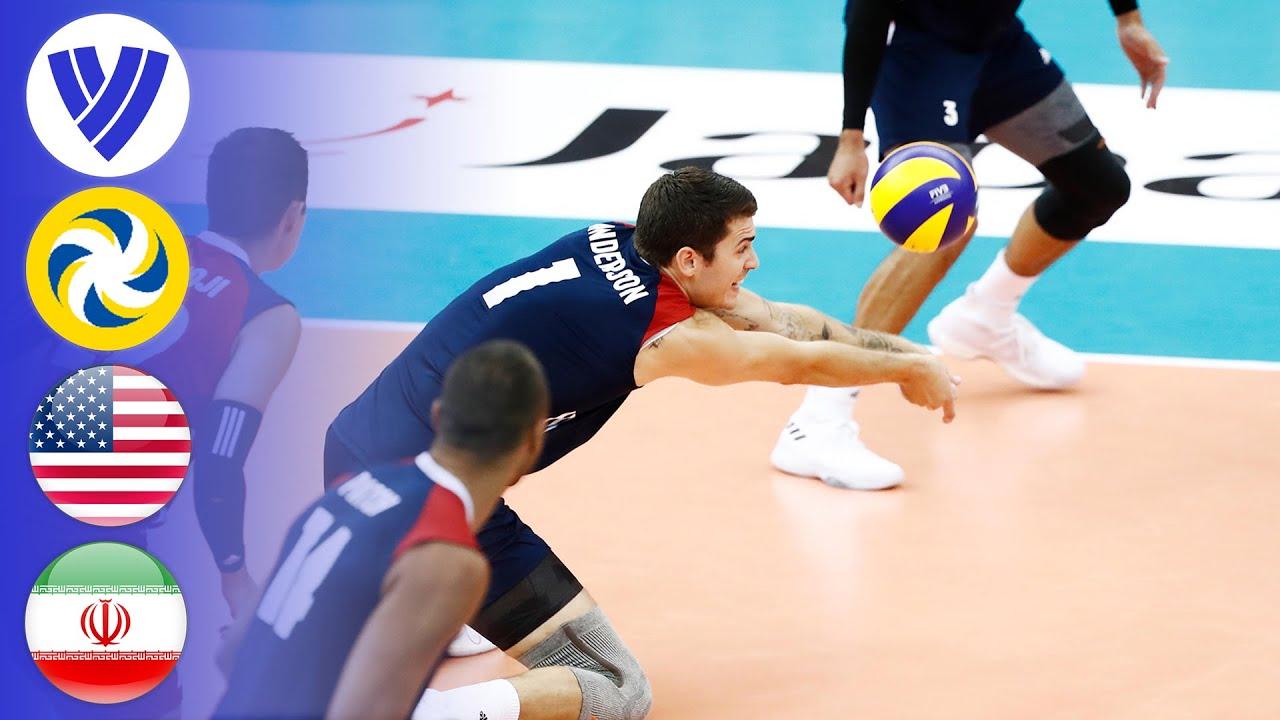 USA vs. IRI - Full Match   Nagoya Round   2017 Men's World Grand Champions Cup