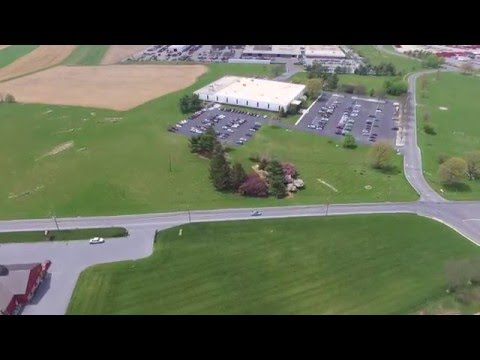 DJI Phantom 3 Standard Flight around New Holland Pennsylvania