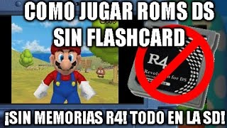 Tutorial Jugar Roms Ds Sin Flashcard R4 En Nintendo 3ds Youtube