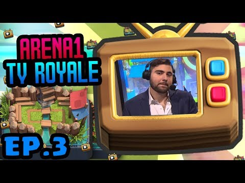WHO WILL SPELL CYCLE FIRST?!? ARENA 1 TV CLASH ROYALE!!!
