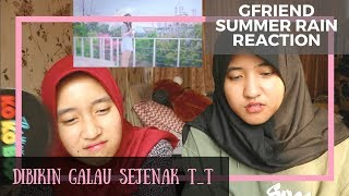 Video GFRIEND - Summer Rain MV // Reaction download MP3, 3GP, MP4, WEBM, AVI, FLV April 2018