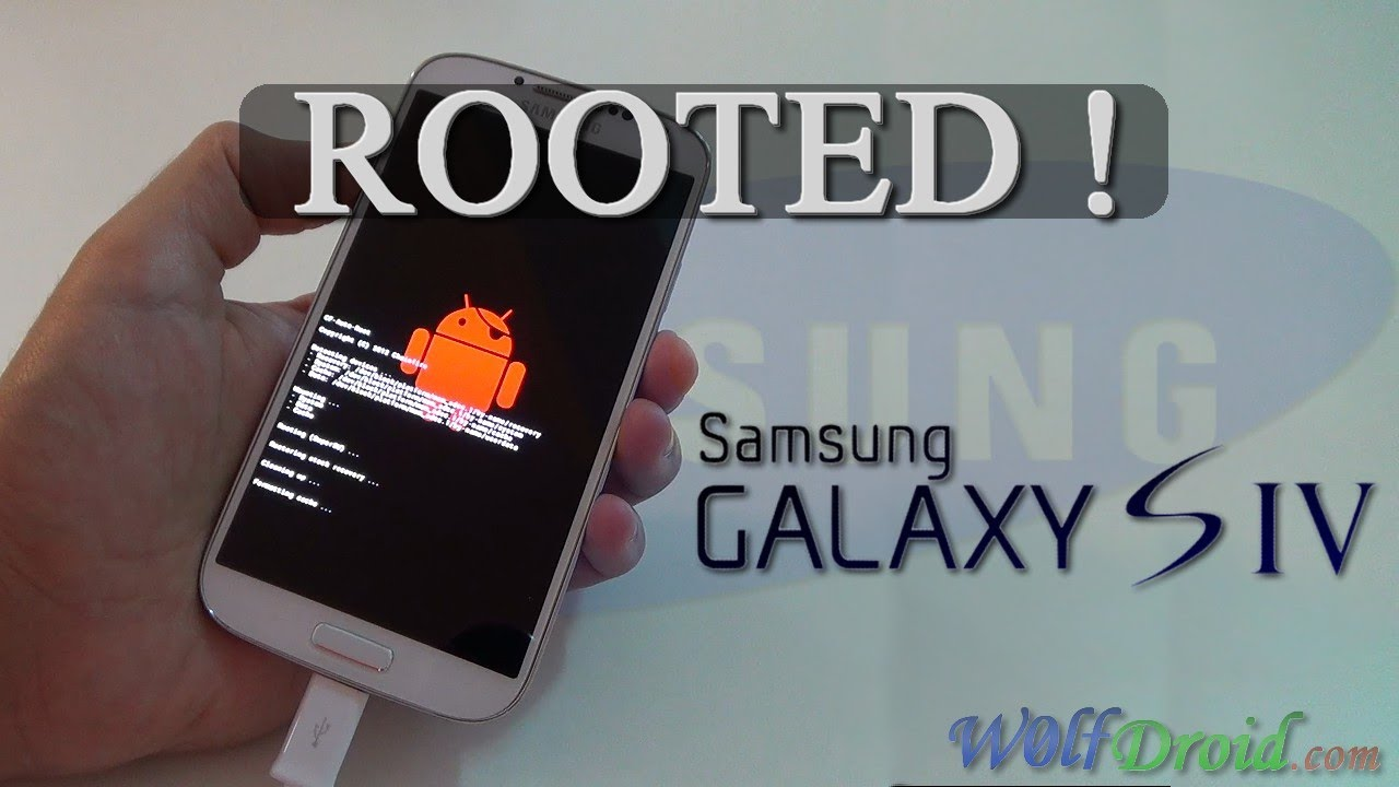 How to Root Samsung Galaxy S4 [CF-Auto-Root] - W0lfDroid