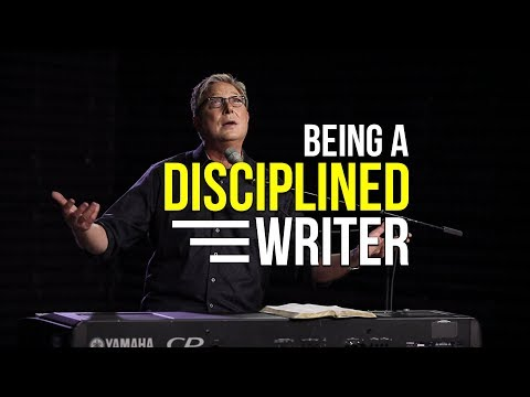 Being a Disciplined Writer | Songwriting Workshop