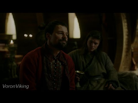 Олег Вещий предложил Ивару Бескостному поход на Каттегат   Викинги [S6E1]   LostFilm