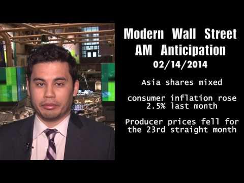 Modern Wall Street AM Anticipation: Futures dip ahead of data, earnings