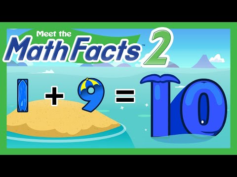 Meet The Math Facts Level 2 - 1+9=10