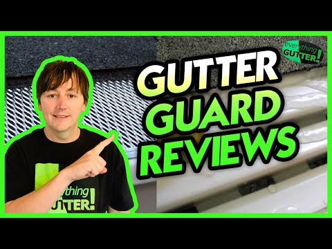 Gutter Guard Review - Leaf Relief or any Aluminum perforated type system!