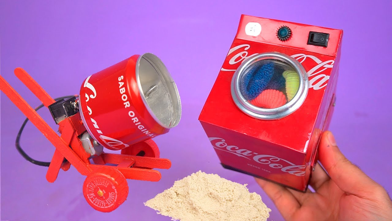Amazing MINI INVENTIONS made with recyclable materials