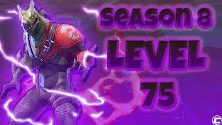 *LEVEL 75* MAX HYBRID UNLOCKED! (Fortnite Season 8 Live)