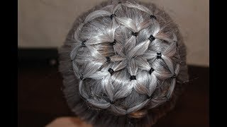 Donut Bun | Quick and Easy Hairstyles | Dance hairstyles | Buns