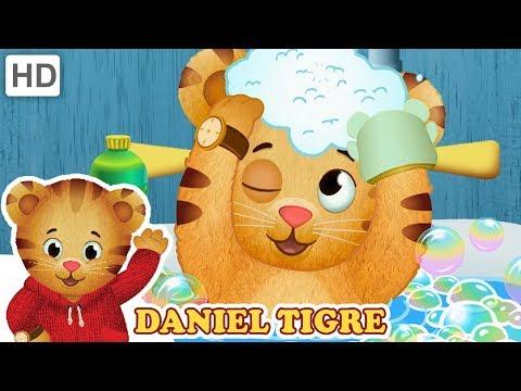 Daniel Tigre em Português 🛁 O Que Fazemos no Banheiro | Vídeos para Crianças