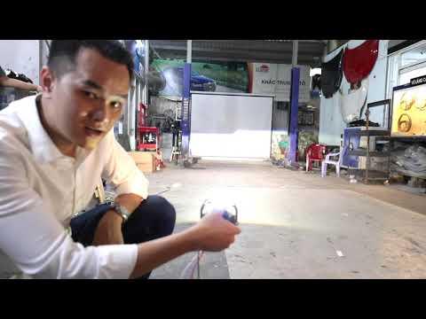 Nâng cấp đèn LED Aozoom cho Aisha tại Khắc Trung Auto