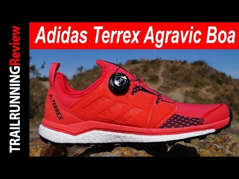 Adidas Terrex Agravic Boa - YouTube