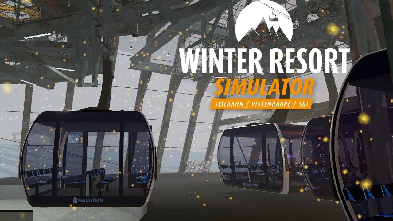 winter resort simulator 9 kristallexpress garagieren. Black Bedroom Furniture Sets. Home Design Ideas