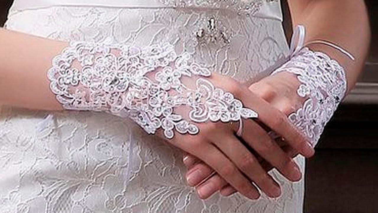 Кружевные перчатки своими руками сшить